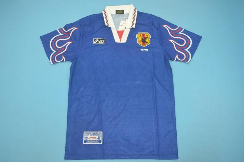 AAA Quality Japan 1998 Home Retro Soccer Jersey