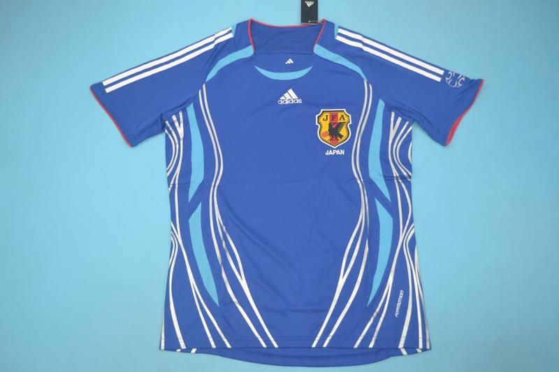 AAA Quality Japan 2006 Home Retro Soccer Jersey