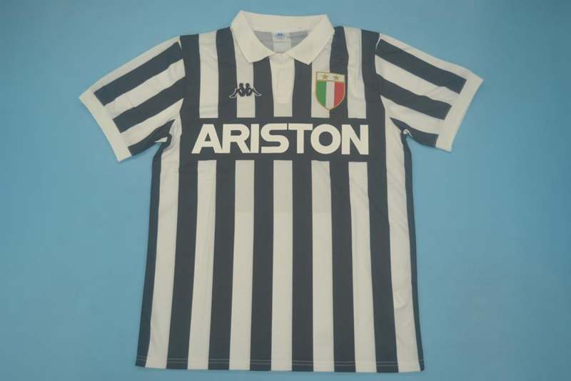 AAA Quality Juventus 1982/84 Home Retro Soccer Jersey