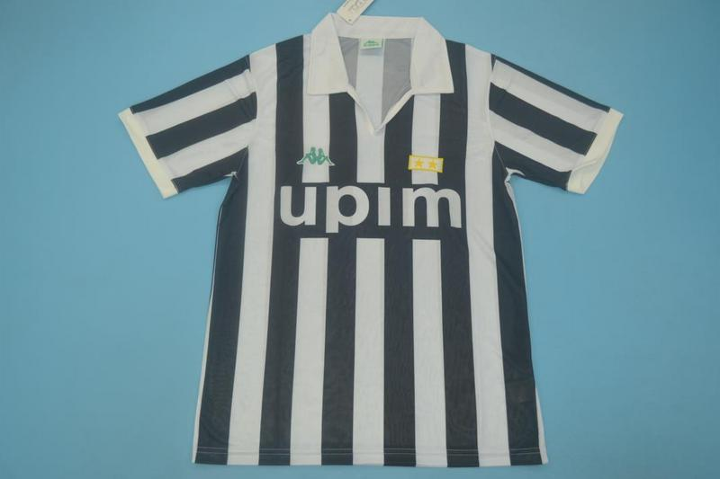 AAA Quality Juventus 1991/92 Home Retro Soccer Jersey
