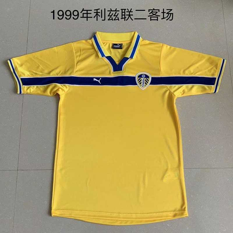 AAA Quality Leeds United 1999/2000 Third Retro Soccer Jersey