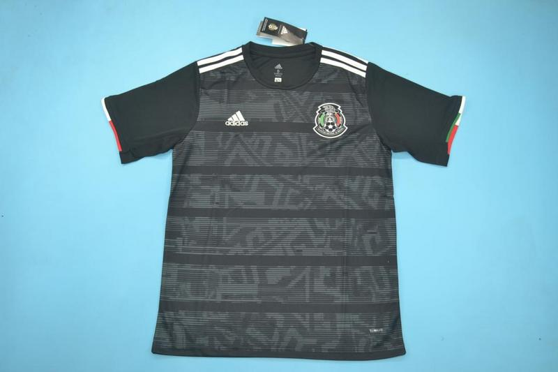 AAA Quality 2019 Mexico Away Black Soccer Jersey