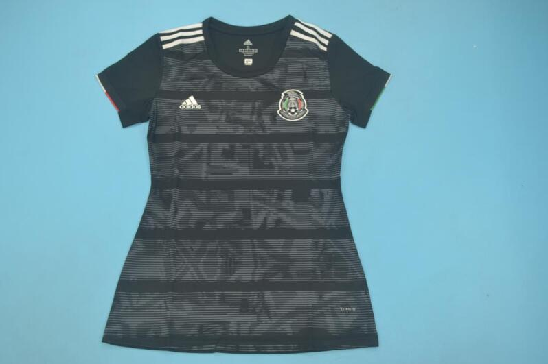 AAA Quality 2019 Mexico Away Black Women Soccer Jersey