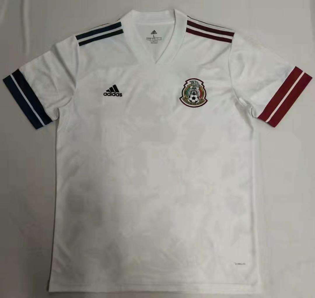 AAA Quality Mexico 2020 Away White Soccer Jersey