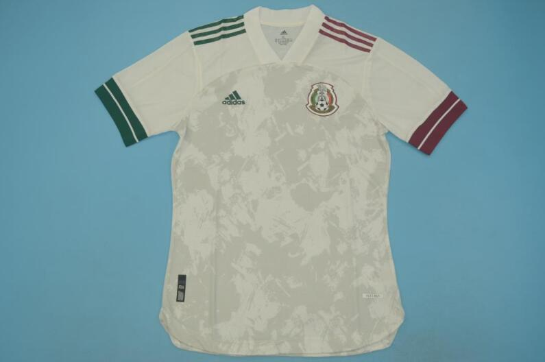AAA Quality Mexico 2020 Away White Soccer Jersey(Player)