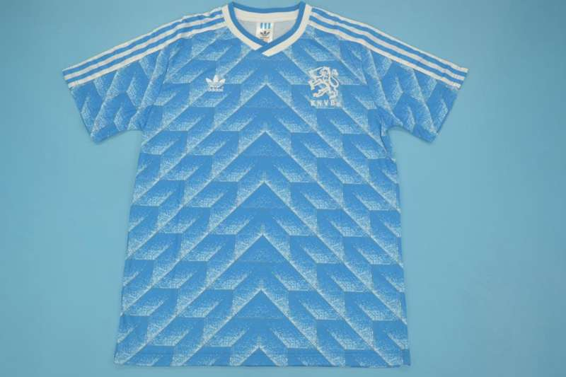AAA Quality 1988 Netherlands Retro Away Soccer Jersey