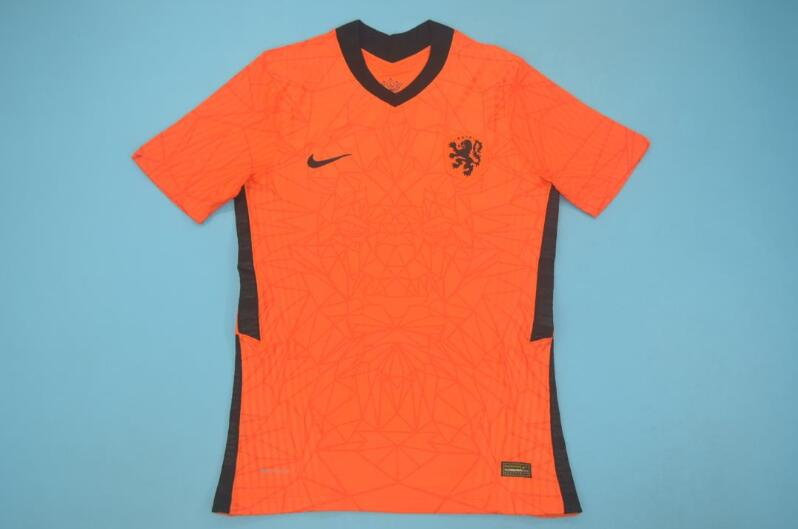 AAA Quality Netherlands 2020 EURO Home Soccer Jersey(Player)