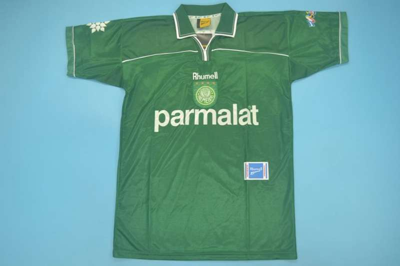 AAA Quality Palmeiras 1999 Retro Home Soccer Jersey