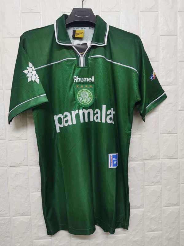 AAA Quality Palmeiras 2014 Retro Home Soccer Jersey