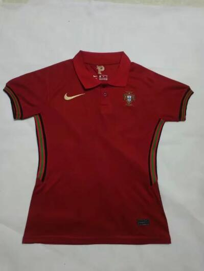 AAA Quality Portugal 2020 EURO Home Women Soccer Jersey