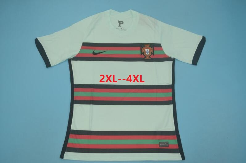 AAA Quality Portugal 2020 EURO Away Soccer Jersey(Big Size)