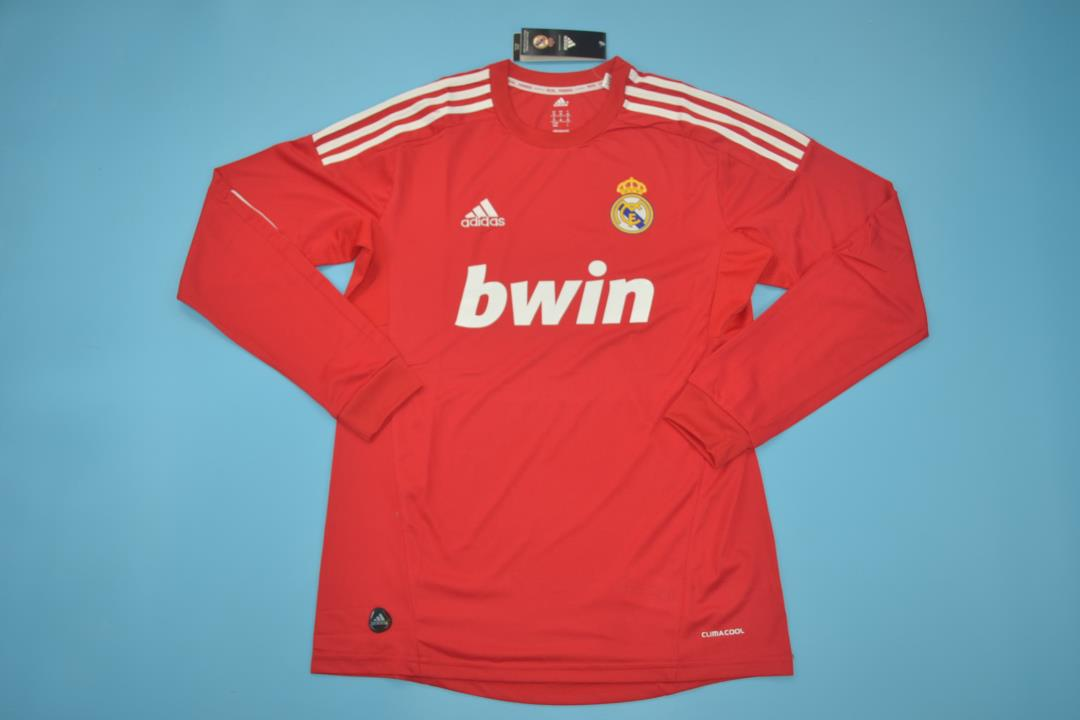 AAA Quality Real Madrid 11/12 Third Long Retro Soccer Jersey