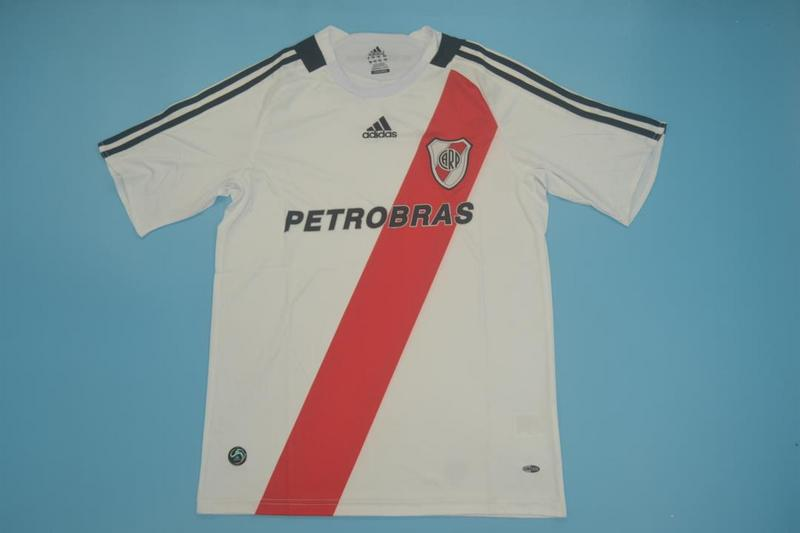 AAA Quality River Plate 2008/09 Retro Home Soccer Jersey