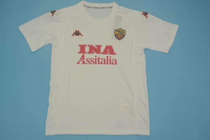 AAA Quality AS Roma 2000/01 Away Retro Soccer Jersey