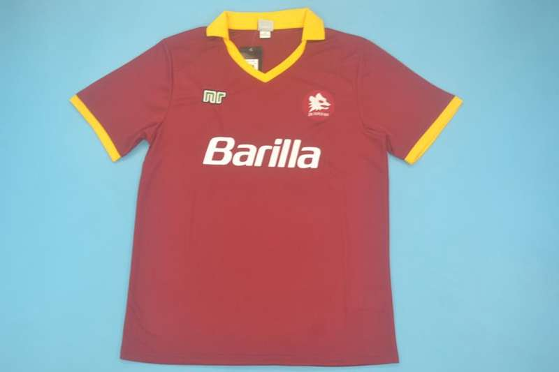 AAA Quality AS Roma 1989/90 Home Retro Soccer Jersey
