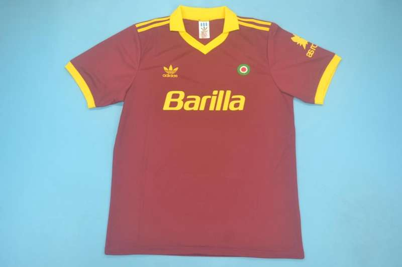 AAA Quality AS Roma 1991/92 Home Retro Soccer Jersey