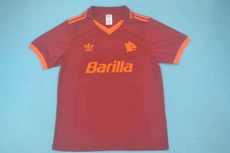 AAA Quality AS Roma 1992/94 Home Retro Soccer Jersey