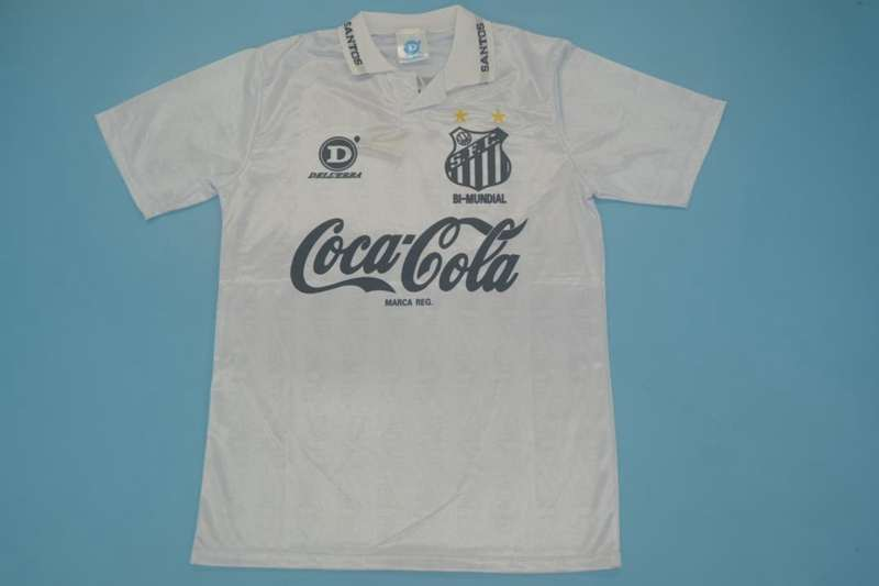 AAA Quality Santos 1993 Retro Home Soccer Jersey