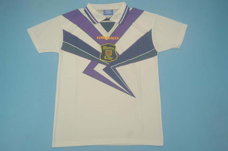 AAA Quality 1994/96 Scotland Retro Away Soccer Jersey