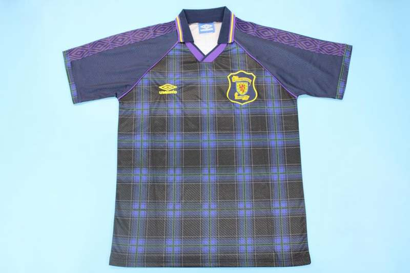 AAA Quality 1994/96 Scotland Retro Home Soccer Jersey