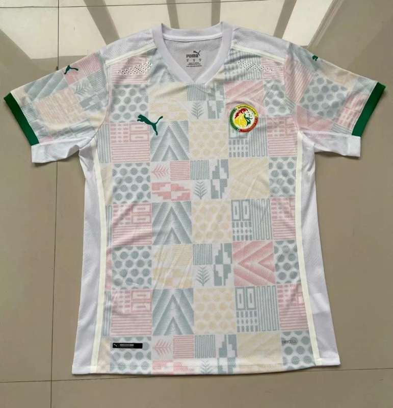 AAA Quality Senegal 2020 Home Soccer Jersey(Player)