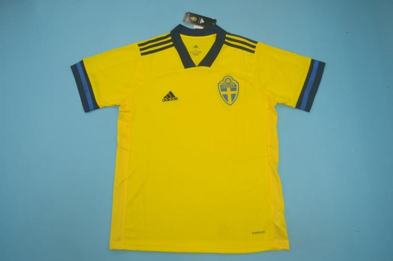 AAA Quality Sweden 2020 EURO Home Soccer Jersey