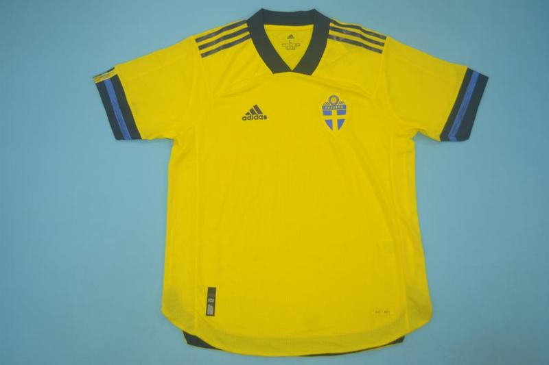 AAA Quality Sweden 2020 EURO Home Soccer Jersey(Player)