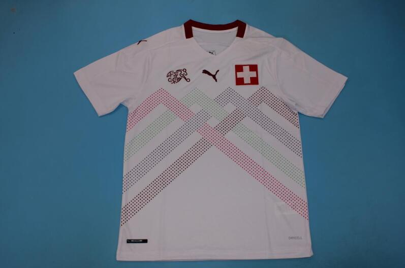 AAA Quality Switzerland 2020 EURO Away Soccer Jersey