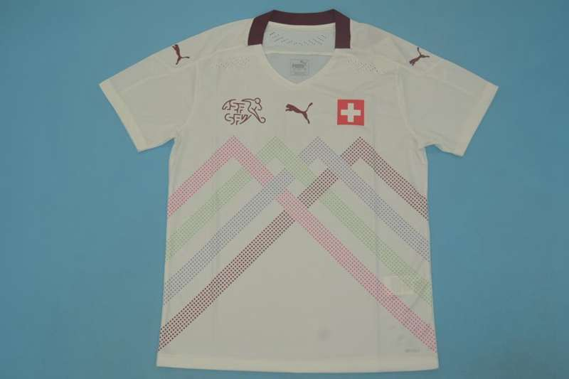 AAA Quality Switzerland 2020 EURO Away Soccer Jersey(Player)